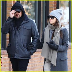 Leonardo DiCaprio & Camila Morrone Get Ready for the Holidays with Trip to Aspen!