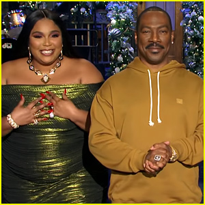 Lizzo Does Happy Dance With Eddie Murphy in 'SNL' Promo (Video)