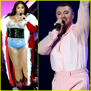 Lizzo & Sam Smith Get Festive at L.A.'s Jingle Ball Concert!