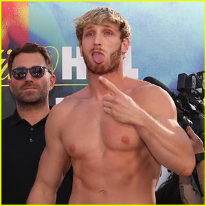 Logan paul shirtless