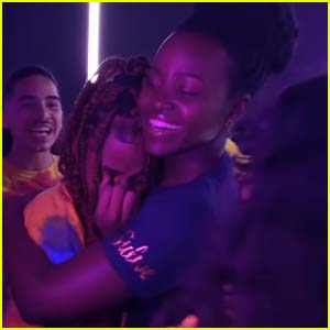 Lupita Nyong'o Surprises Young Musicians Performing Her Song! (Video)