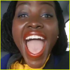 Lupita Nyong'o Reacts to SAG Awards Nomination! (Video)