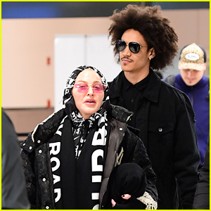 Madonna's New Boyfriend Ahlamalik Williams Joins Her Family for Trip to London