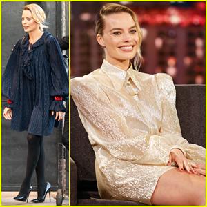 Margot Robbie Tells 'Kimmel' She's Never Seen 'Star Wars'!