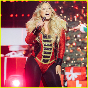 Mariah Carey Performs Her Christmas Classic for Corden's Holiday Special (Video)