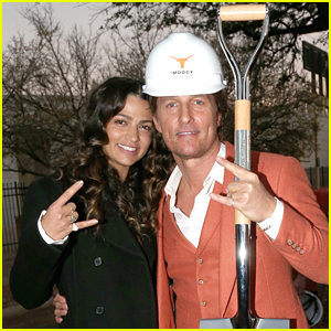 Matthew McConaughey Breaks Ground on New Event Center at University of Texas