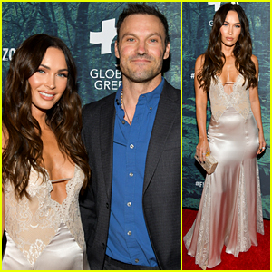 Megan Fox & Brian Austin Green Walk First Red Carpet Together in Five Years!