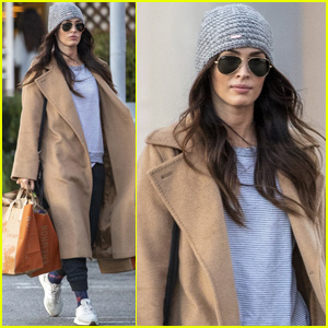 Megan Fox Returns Home After Family Trip to Disney World!