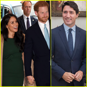 Prince Harry & Meghan Markle Welcomed to Canada By Prime