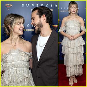 Melissa Benoist & Chris Wood Celebrate Supergirl's 100th Episode!