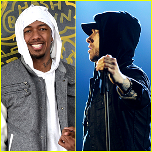 Nick Cannon Accuses Eminem of Facelifts & Botox in Second Diss Track 'Pray For Him' - Listen!