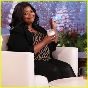 Octavia Spencer Tells 'Ellen' She Loves Re-Gifting For Christmas!
