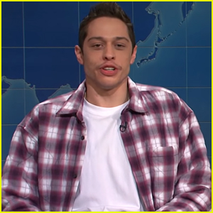 Pete Davidson Addresses Relationship With Kaia Gerber on 'SNL' (Video)