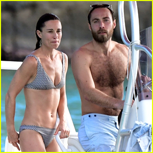 Pippa Middleton & Family Continue Vacation with a Boat Ride!