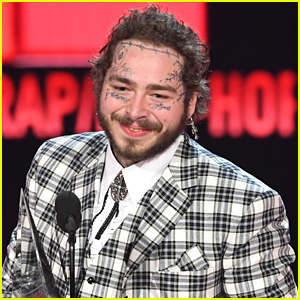 Post Malone Gets New Face Tattoo Just Ahead of Ringing In 2020 on 'Dick Clark's New Year's Rockin' Eve'