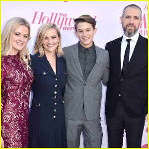 Reese Witherspoon is Supported by Kids & Husband Jim Toth at THR's Women in Entertainment Gala 2019!