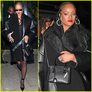 Rihanna Changes Up Her Look For Fashion Awards After Party!