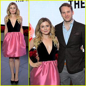 Rose McIver & Ben Lamb Step Out For 'A Christmas Prince: The Royal Baby' Screening