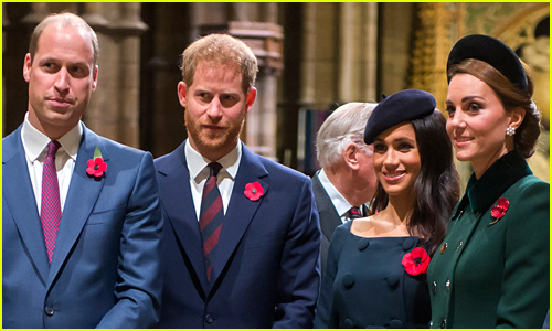 Kate Middleton & Prince William's Official Twitter Account 'Likes' Prince Harry & Meghan Markle's Christmas Card Tweet
