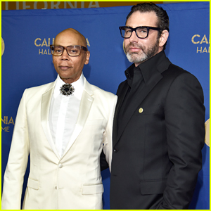 RuPaul Gets Support from Hubby Georges LeBar at California Hall of Fame Induction!