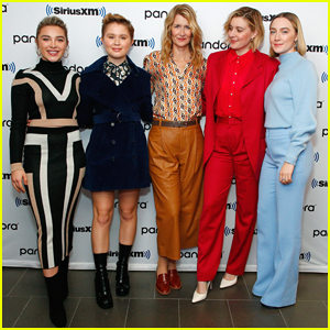 Saoirse Ronan, Laura Dern & 'Little Women' Assemble In NYC for Press!