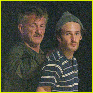 Sean Penn & Son Hopper Enjoy Night Out in St. Barth