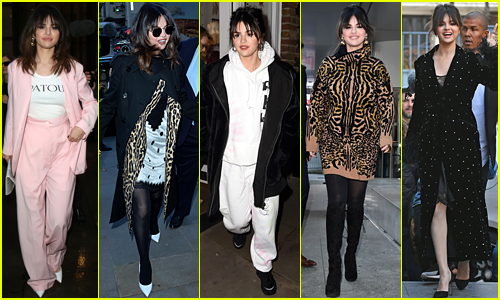 Selena Gomez Has Been Turning London & Paris Into a Runway!