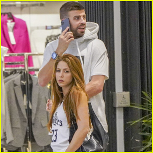 Shakira & Gerard Pique Do Some Last Minute Holiday Shopping in Miami