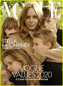 Stella McCartney & Her Kids Are Vogue's Latest Cover Stars