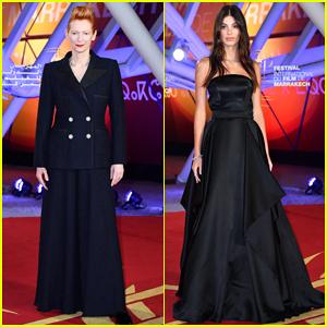 Tilda Swinton & Camila Morrone Help Close Out Marrakech International Film Festival!