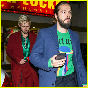 Tom Kaulitz Meets Up With Brother Bill For Night Out in LA