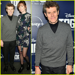 Willem Dafoe Steps Out For Disney+ 'Togo' Screening in NYC