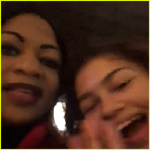 Zendaya Corrects a Fan's Mom Who Thought She Was on '13 Reasons Why'