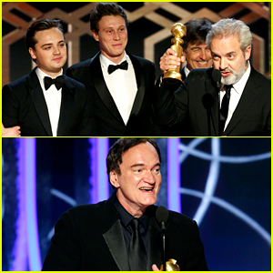 '1917' & 'Once Upon a Time in Hollywood' Are the Golden Globes' Top Movies of the Year!