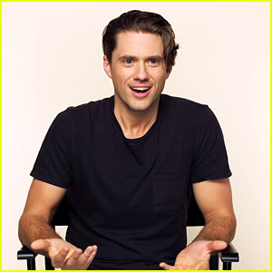 Aaron Tveit Belts Out Classic Tunes for 'Song Association' Game!