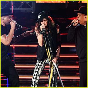 Aerosmith & Run-DMC Perform Together at the Grammys 2020