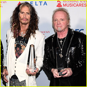 Aerosmith's Joey Kramer Joins Band to Accept Award After Being Blocked from Performing