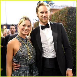 Alexander Skarsgard & Margot Robbie Had Another 'Tarzan' Reunion at the SAG Awards!