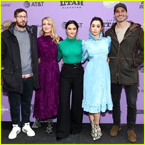 Camila Mendes Joins Andy Samberg & Tyler Hoechlin at 'Palm Springs' Premiere During Sundance Film Festival