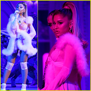 Ariana Grande Goes Sultry in Lingerie for Medley of Her Hits at Grammys 2020 - Watch!