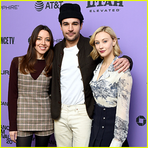 Aubrey Plaza Brings New Film 'black-bear' To Sundance With Christopher Abbott & Sarah Gadon