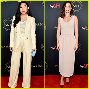 The Farewell's Awkwafina & Knives Out's Ana de Armas Attend AFI Awards 2020!