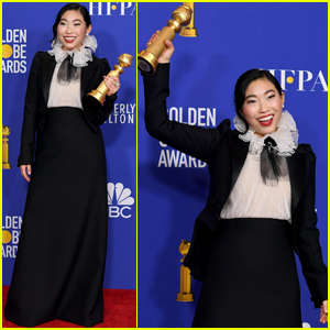 Awkwafina Takes Home Best Actress in a Musical or Comedy at Golden Globes 2020