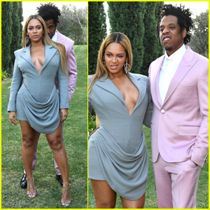 Beyonce Joins Jay-Z at Roc Nation's Pre-Grammys 2020 Brunch!