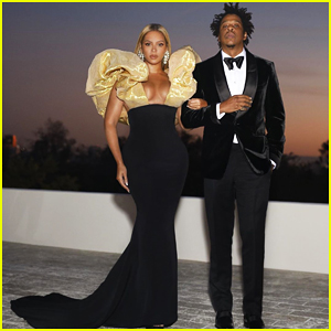 Beyonce & Jay-Z Strike A Pose Ahead Of Golden Globes 2020 Appearance!