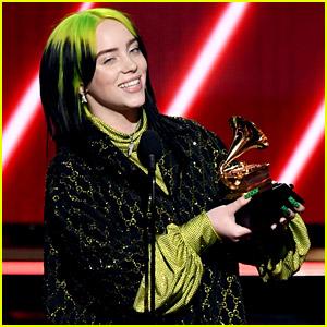 Billie Eilish Wins Best New Artist at Grammys 2020, Thanks the Fans!