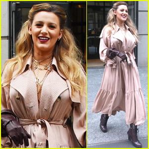 Blake Lively Makes Rare Public Outing Ahead of 'The Rhythm Section' Release