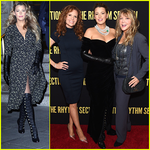 Blake Lively Brings Her Sister & Mom To 'Rhythm Section' Premiere