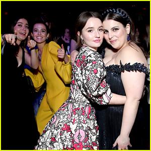 'Booksmart' & 'Politician' Actors Start a Dance Party at Netflix's Golden Globes After Party!