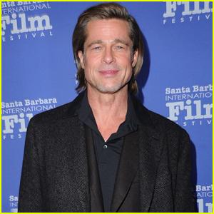 Brad Pitt Honored at Santa Barbara Film Festival 2020